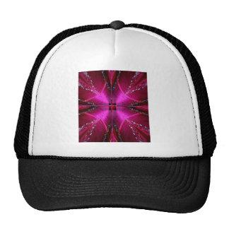 SPARKLE PINK ROSE FLOWER PETAL ART SHIRTS CAP