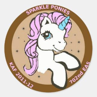 Sparkle Ponies Sticker