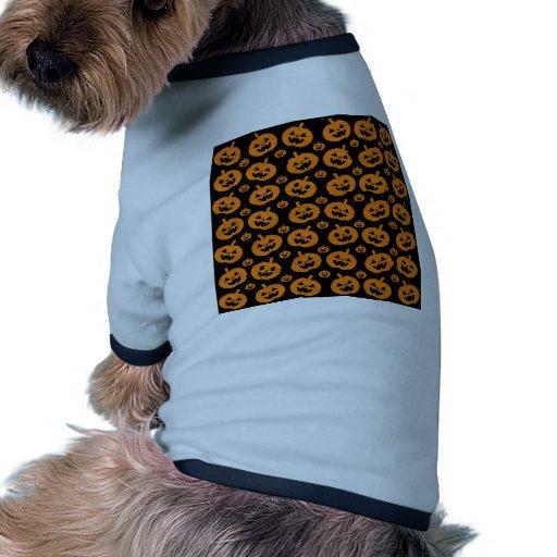 Sparkle Pumpkins Doggie Tee Shirt