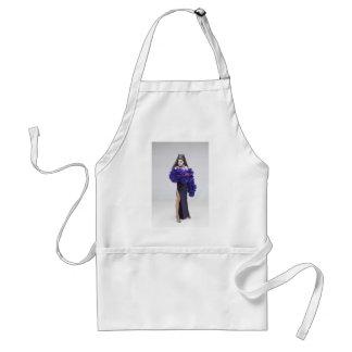 Sparkle purple standard apron