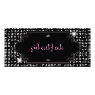 Sparkle Shine Gift Certificate Rack Card