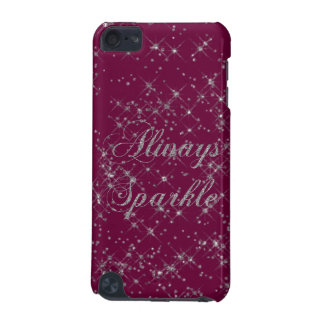 Sparkle Silver Glitter iPod Touch 5G Covers