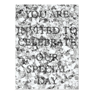 Sparkle Silver Invitation