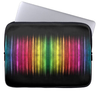 Sparkle spectrum computer sleeve