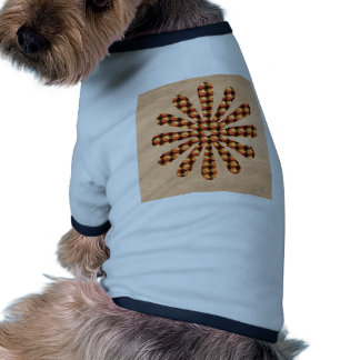 Sparkle Star Decoration Goodluck Gifts Colorful Doggie T-shirt