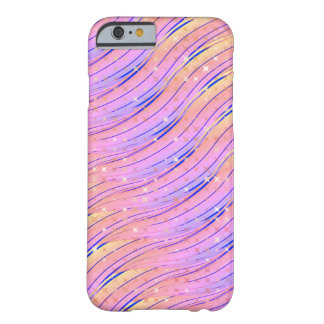 Sparkle Sunset Waves Barely There iPhone 6 Case