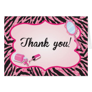 Sparkle Thank you note cards