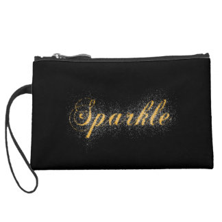 Sparkle Wristlet Clutches