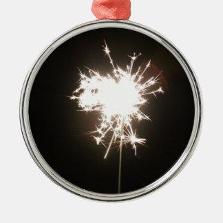 Sparkler Christmas Ornament