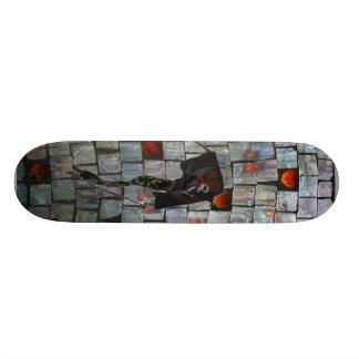 sparkler flys skate board