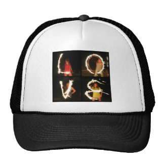 Sparkler LOVE Cap