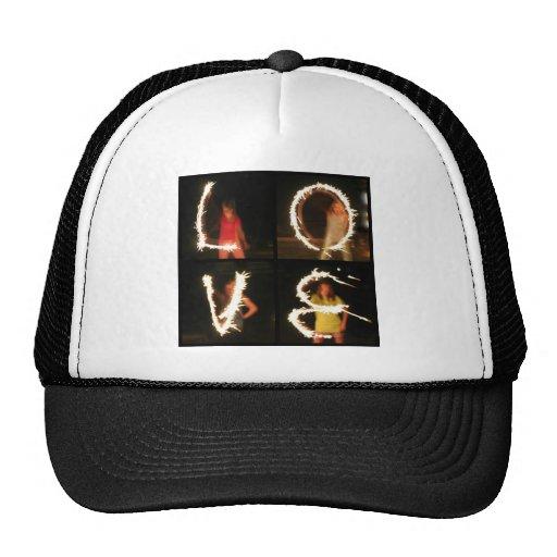 Sparkler LOVE Trucker Hats