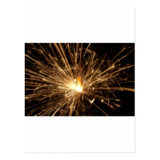 Sparkler Postcard