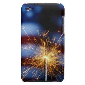 Sparkler with American Flag Barely There iPod Cover