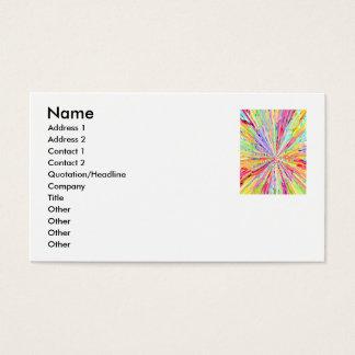 SPARKLES - FLASH LIGHT BUSINESS CARD