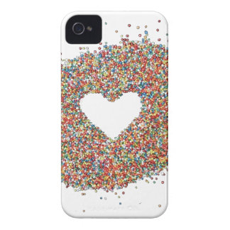 Sparkles Heart design by Comocean Case-Mate iPhone 4 Cases