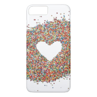 Sparkles Heart design phone cover