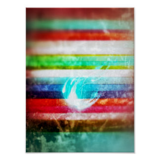 Sparkles in a sea of colours poster