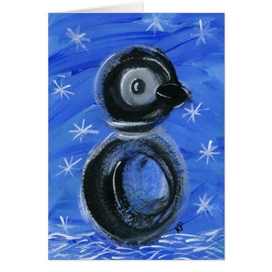 Sparkles the Penguin Card