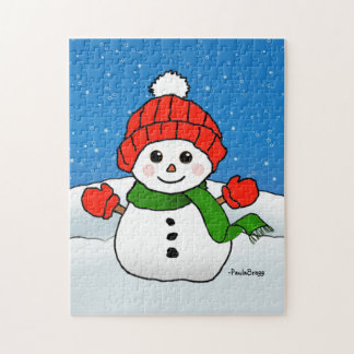 Sparkles the Snowman: Happy Holidays! Jigsaw Puzzle