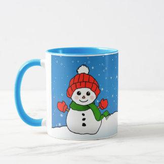 Sparkles the Snowman: Happy Holidays! Mug