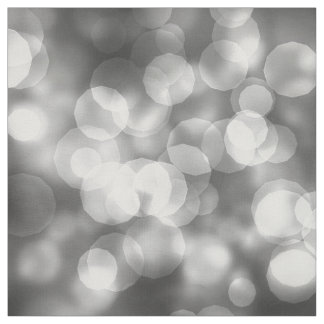 Sparkling Bokeh Silver ID133 Fabric