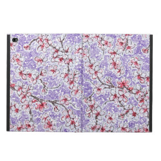 Sparkling Cherry Blossoms on Purple Powis iPad Air 2 Case