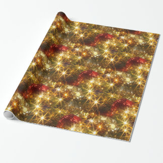 Sparkling Christmas Wrapping Paper