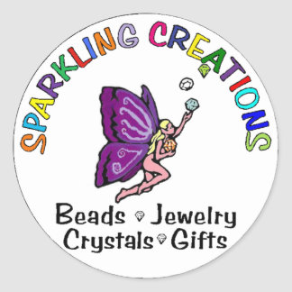 Sparkling Creations Logo Stickers