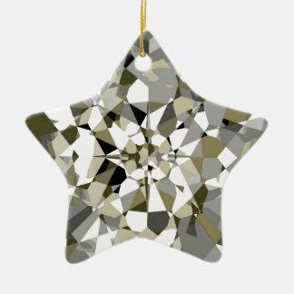 Sparkling Diamond Star Ornament