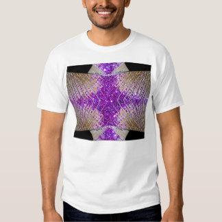 Sparkling Futuristic Abstract Designer Mens Tshirt