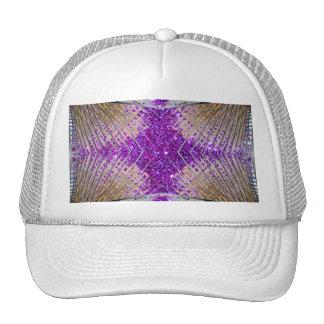 Sparkling Futuristic Design Ballcap Hat Trucker Hat