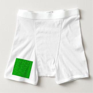 sparkling glitter neon green boxer briefs