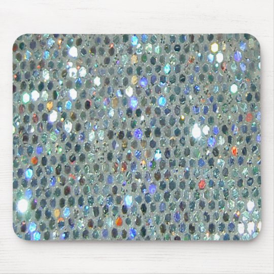 Sparkling Glittery Glitzy Bling Mouse Mat