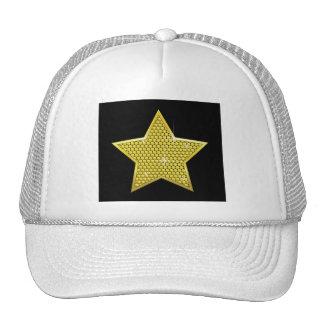 Sparkling Gold Star Cap