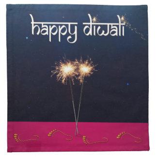 Sparkling Happy Diwali - Cloth Napkin