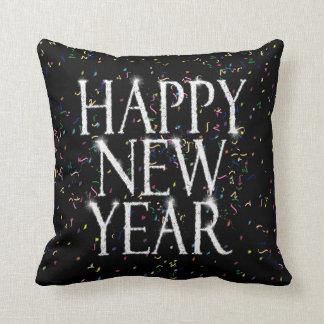 Sparkling Happy New Year Cushion