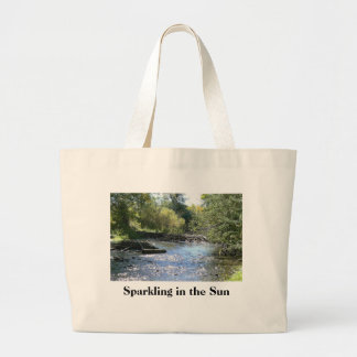 Sparkling in the Sun Large Tote Bag