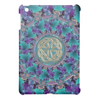 Sparkling Jeweled Celtic Fractal iPad Mini Covers