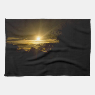 Sparkling Moon Tea Towel