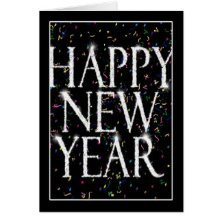 Sparkling New Years Card