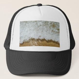Sparkling ocean scene background trucker hat
