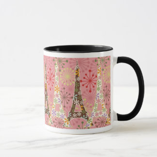 Sparkling Paris in Pink Mug