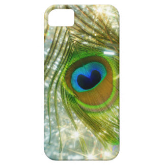Sparkling Peacock Feather iPhone 5 Case