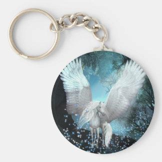 Sparkling Pegasus Key Ring