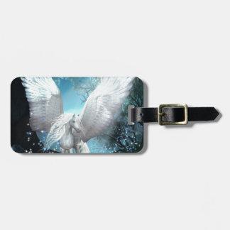 Sparkling Pegasus Luggage Tag