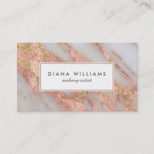 Makeup Artist Business Cards Zazzle Uk