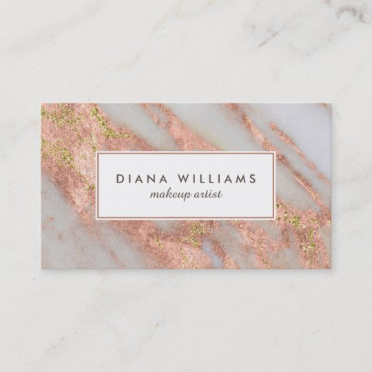Sparkling pink marble abstract makeup artist business card zazzle sparkling pink marble abstract makeup artist business card reheart Image collections