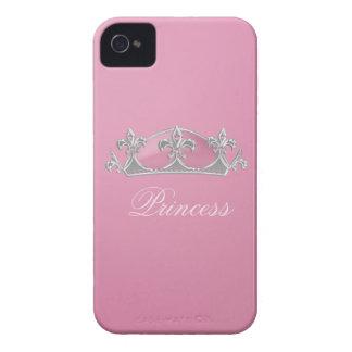 Sparkling Pink Princess Crown Blackberry Bold Case