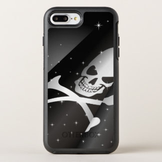 Sparkling Pirate Flag OtterBox Symmetry iPhone 7 Plus Case